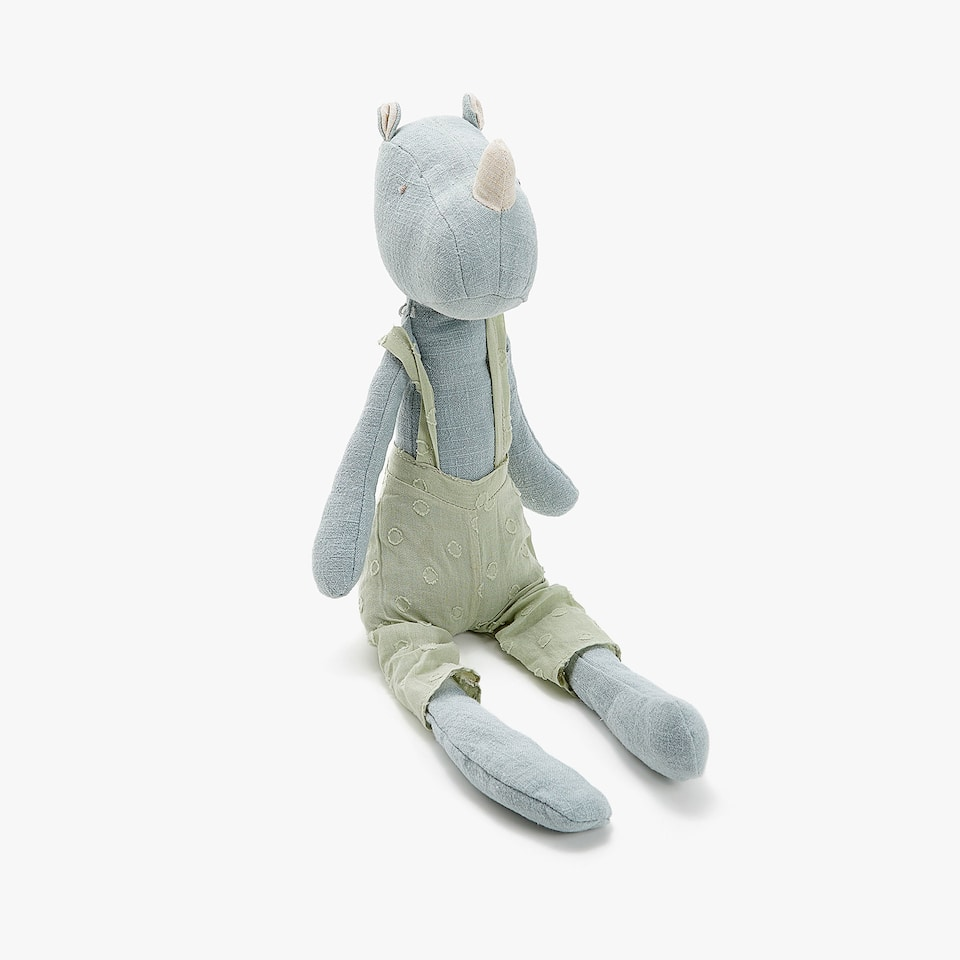 BLUE RHINO SOFT TOY