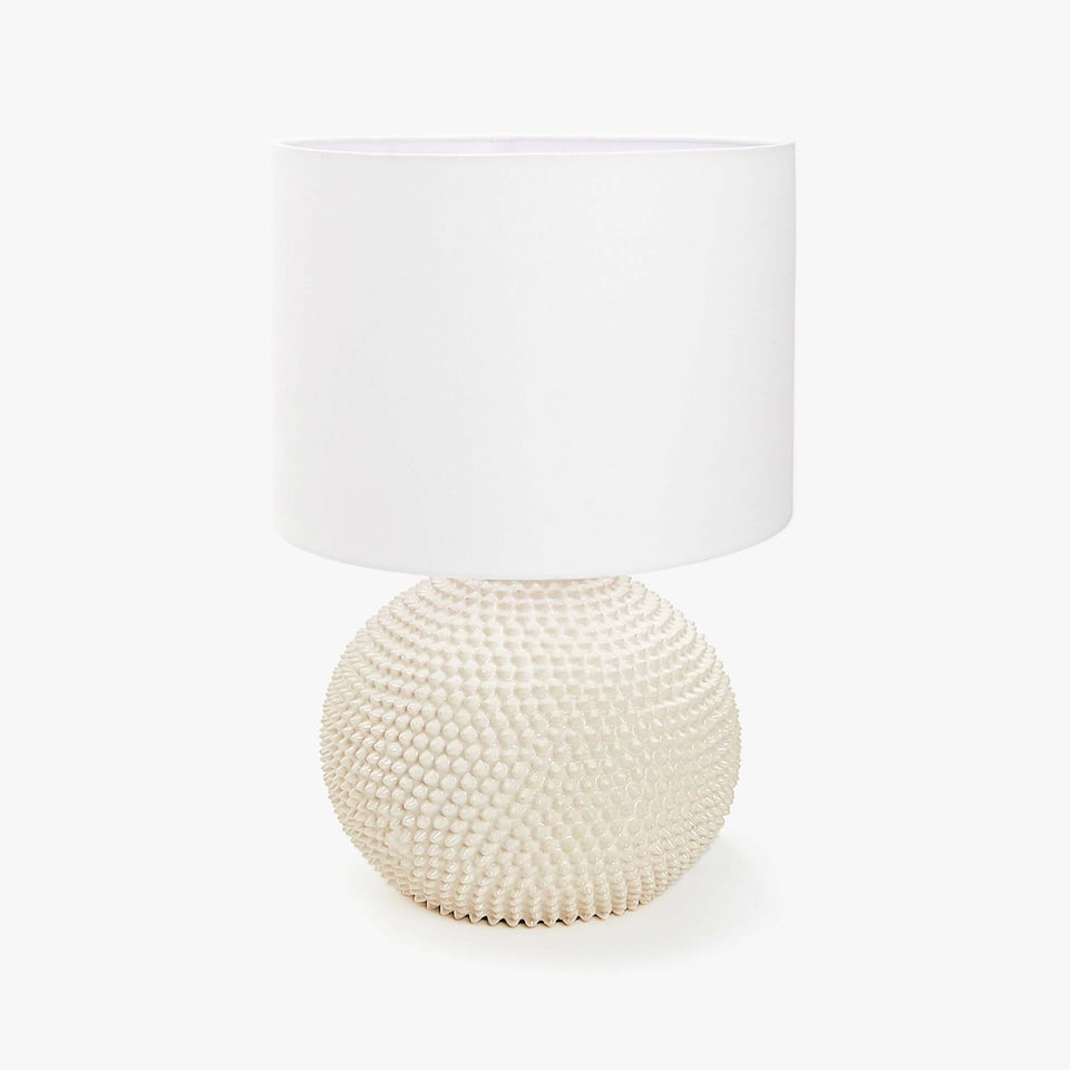 CERAMIC RAISED DESIGN LAMP