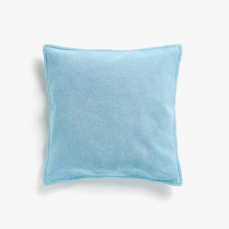 Coarse cotton cushion cover