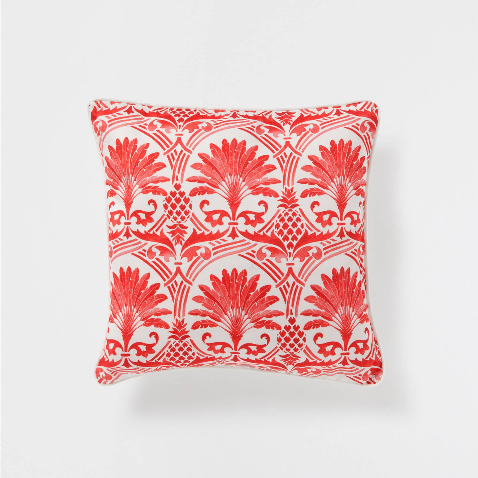 Palm Tree Bedroom Furniture Coral Palm Tree Print Cushion Cushions Bedroom Zara Home