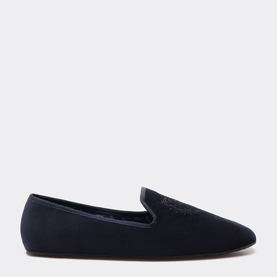 Chausson velours homme chaussures v tements zara home france - Zara home france magasins ...