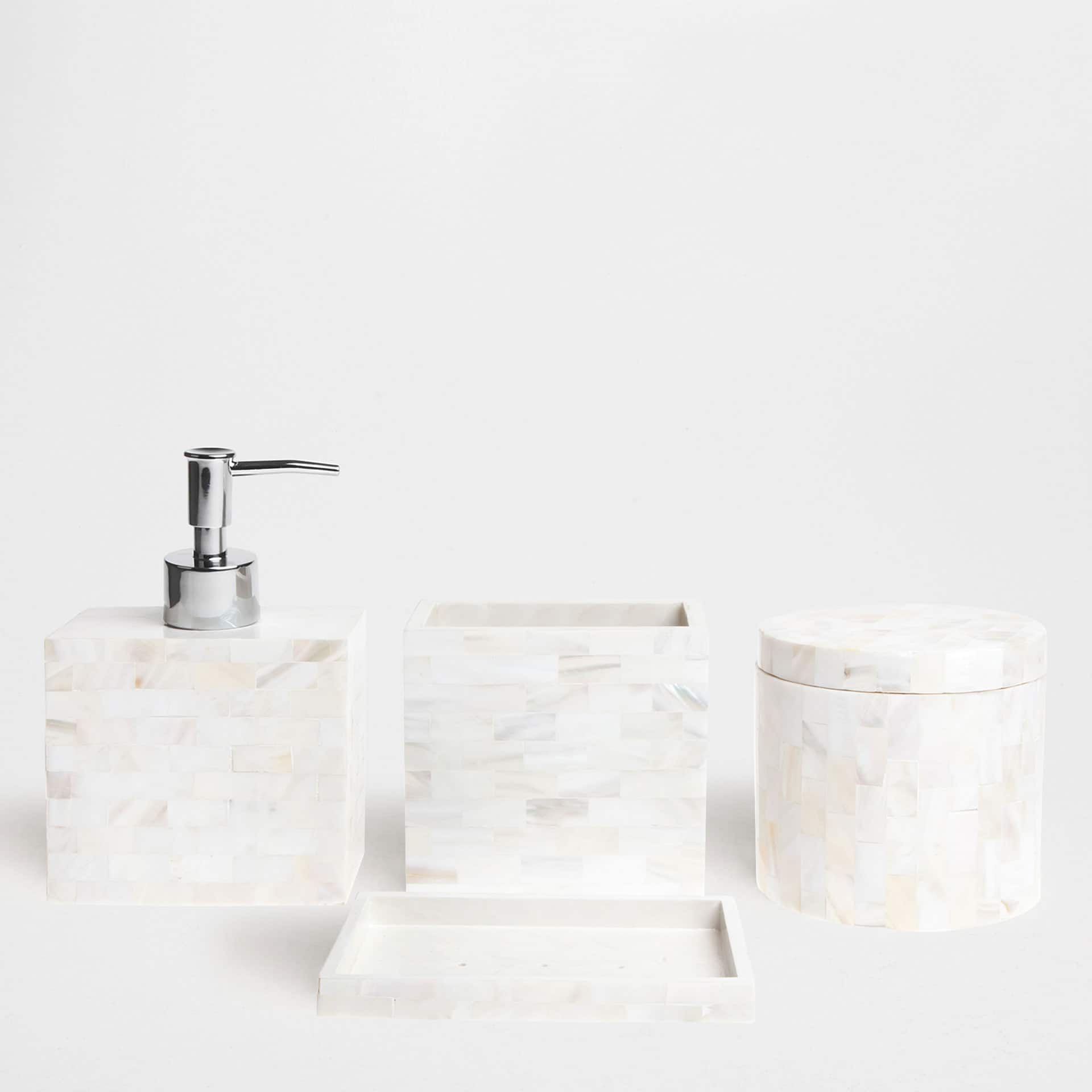 Mother of pearl Bathroom Set. Mother of pearl Bathroom Set     Zara Home United Kingdom