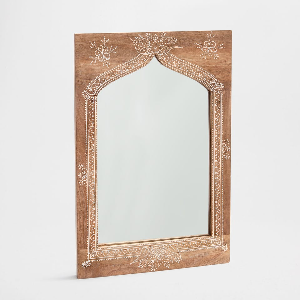 Miroirs d coration zara home france for Miroir france