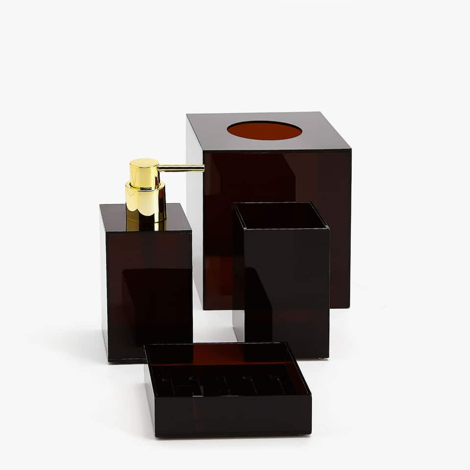 0a101b4912e Zara Brown bathroom set