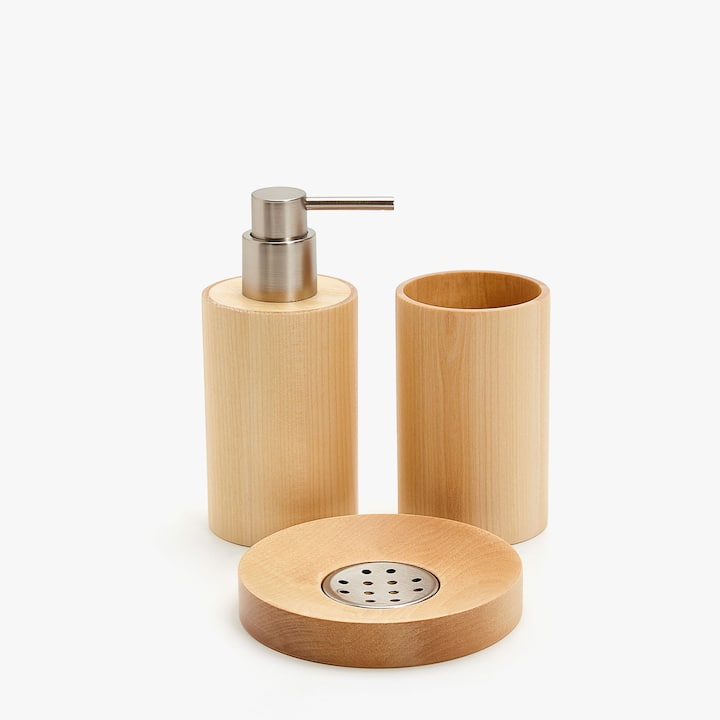 Badaccessoires holz  Badeaccessoires - Bad | Zara Home SWITZERLAND