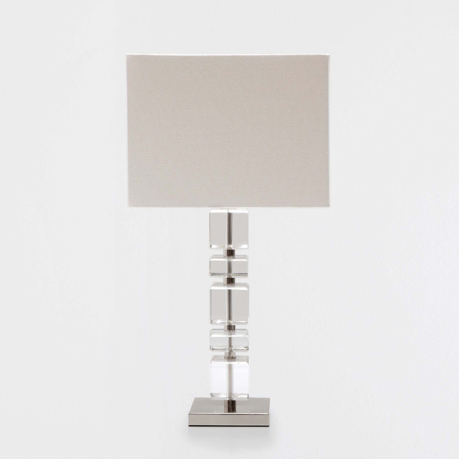 Image of the product GLASS CUBES LAMP. Table Lamps   Zara Home Pre Fall Collection 2017