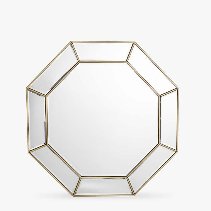 imagen del producto espejo octogonal doble perfil