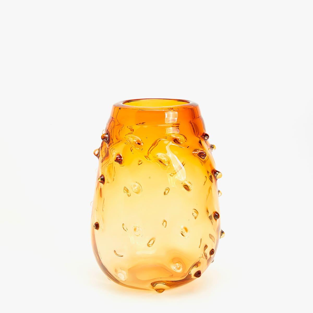 Afbeelding 1 van het product Glazen vaas met stekels