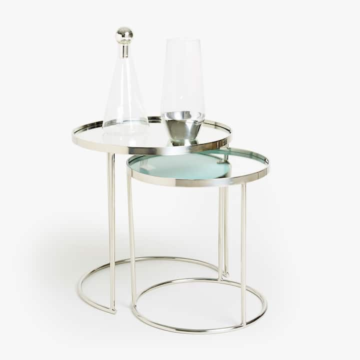 Image of the product Round nest of tables  set of 2. FURNITURE   Decoration   Zara Home Australia