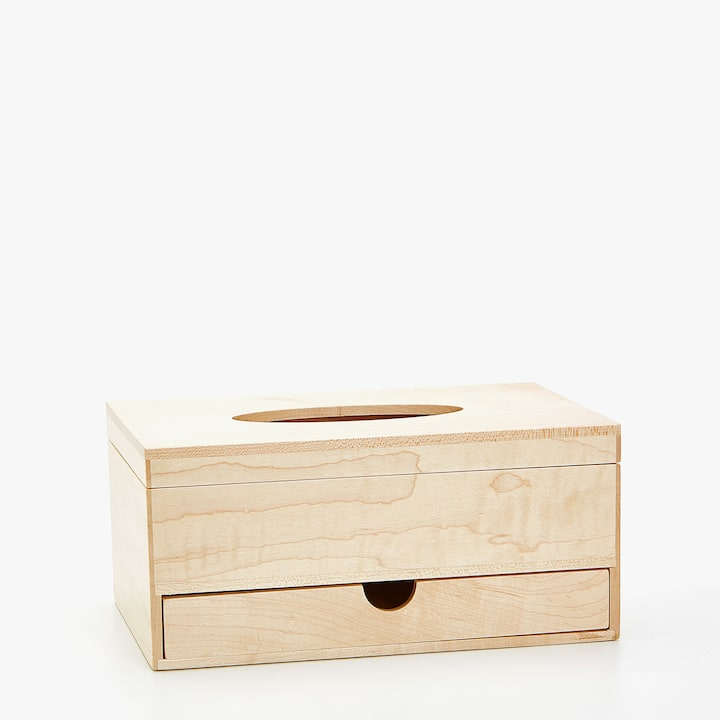 image of the product tissue box with drawer