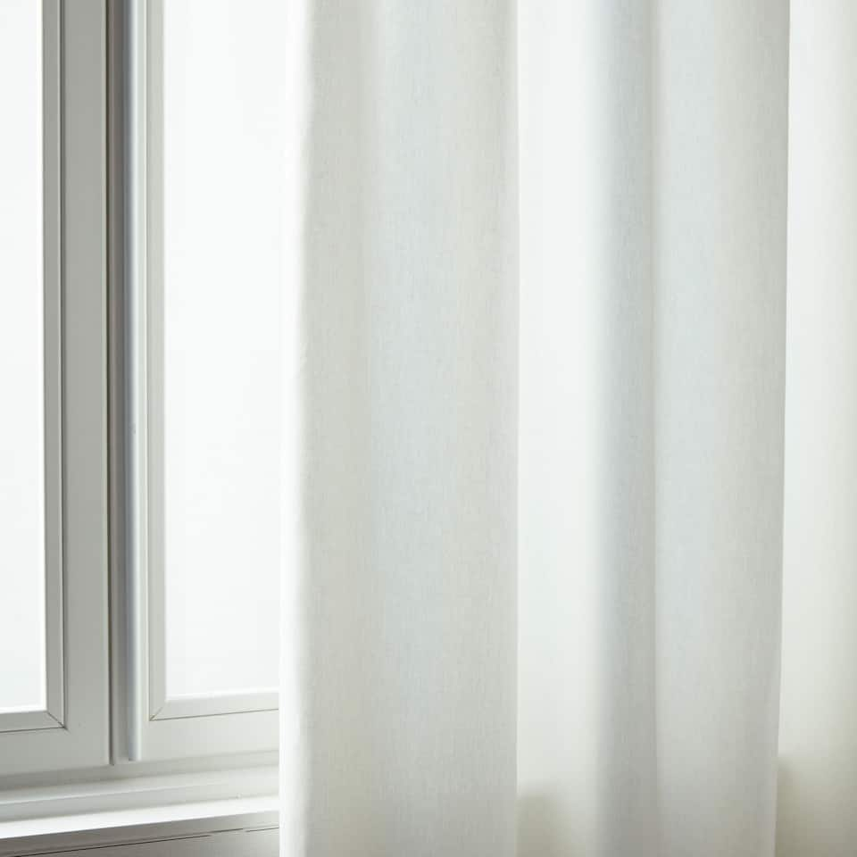 3ec781b23e Zara WHITE COTTON CURTAIN