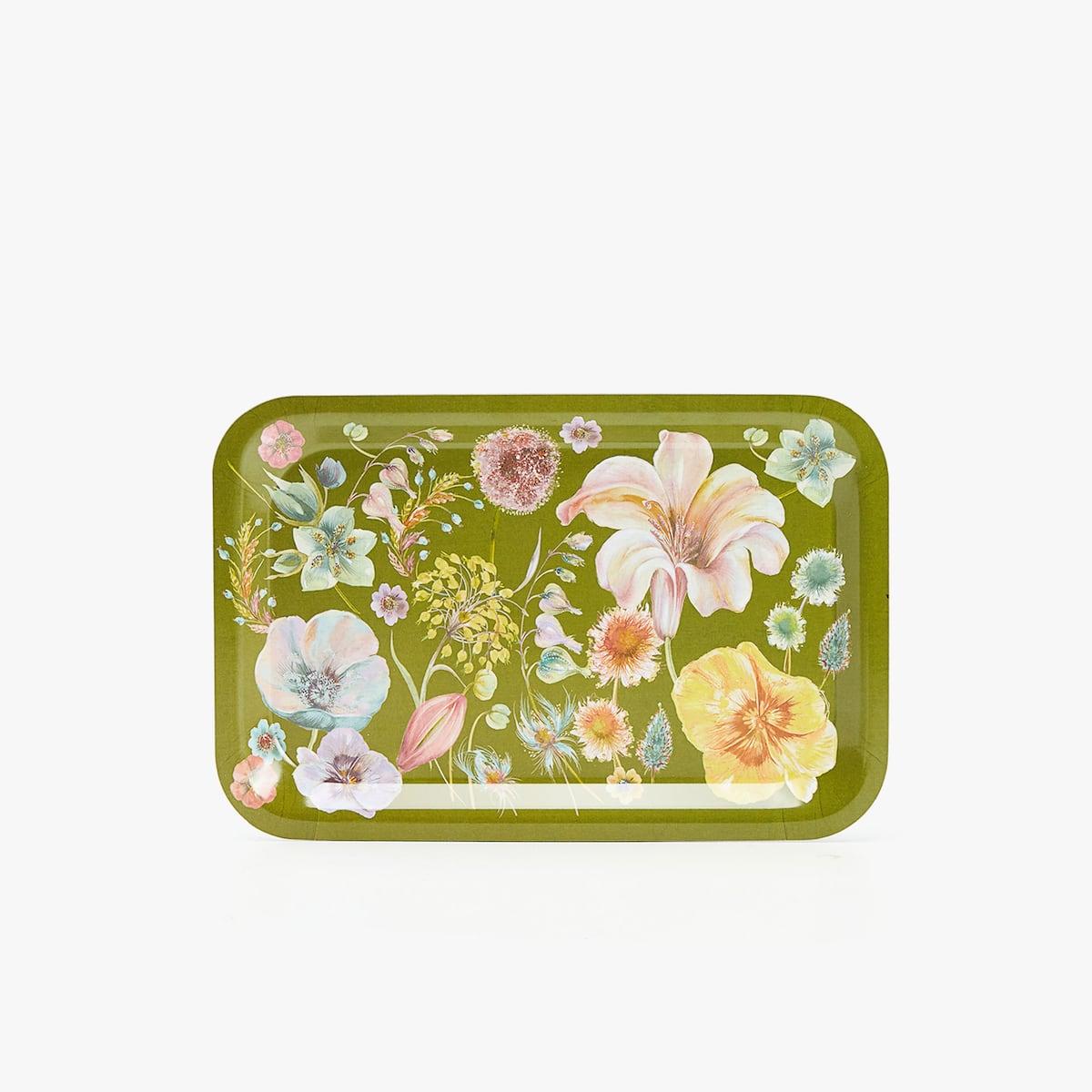 Afbeelding 2 van het product Dienblad met bloemenprint