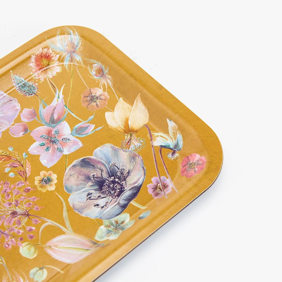 Afbeelding 3 van het product Dienblad met bloemenprint
