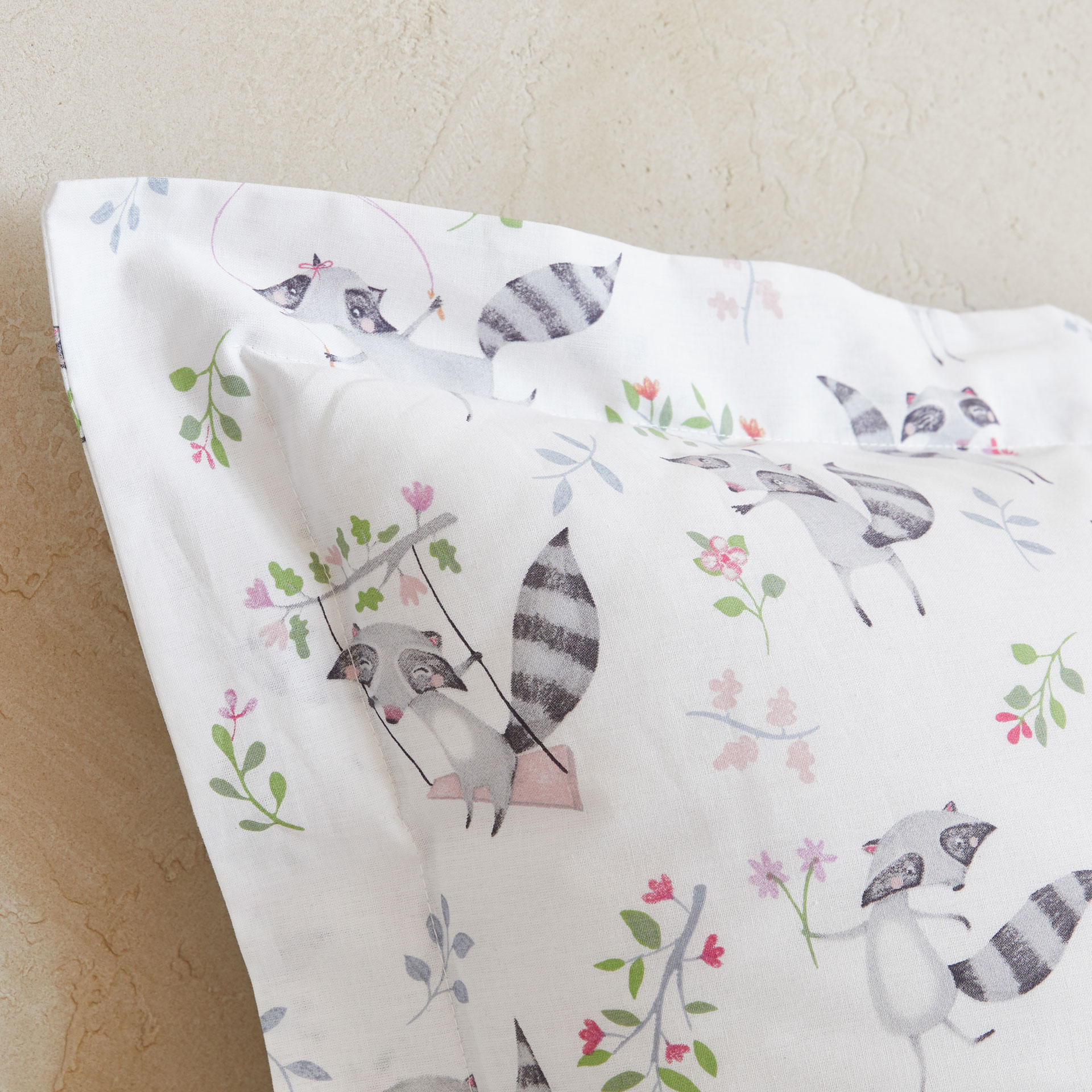 raccoon print duvet cover duvet covers bedroom kids zara