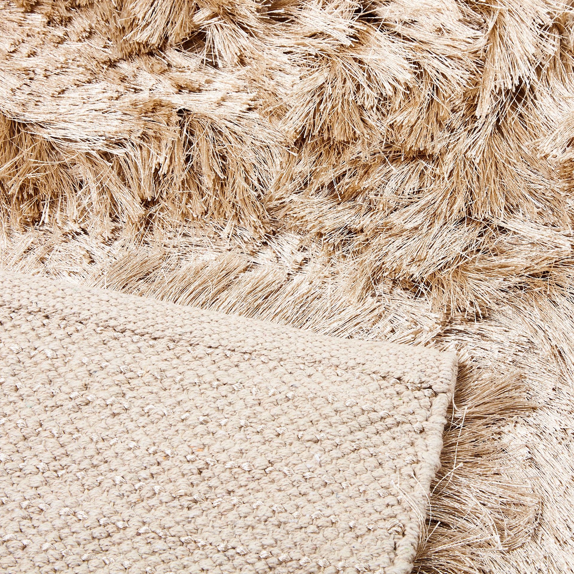 + Image 3 Of The Product ECRU COLOURED FURRY RUG