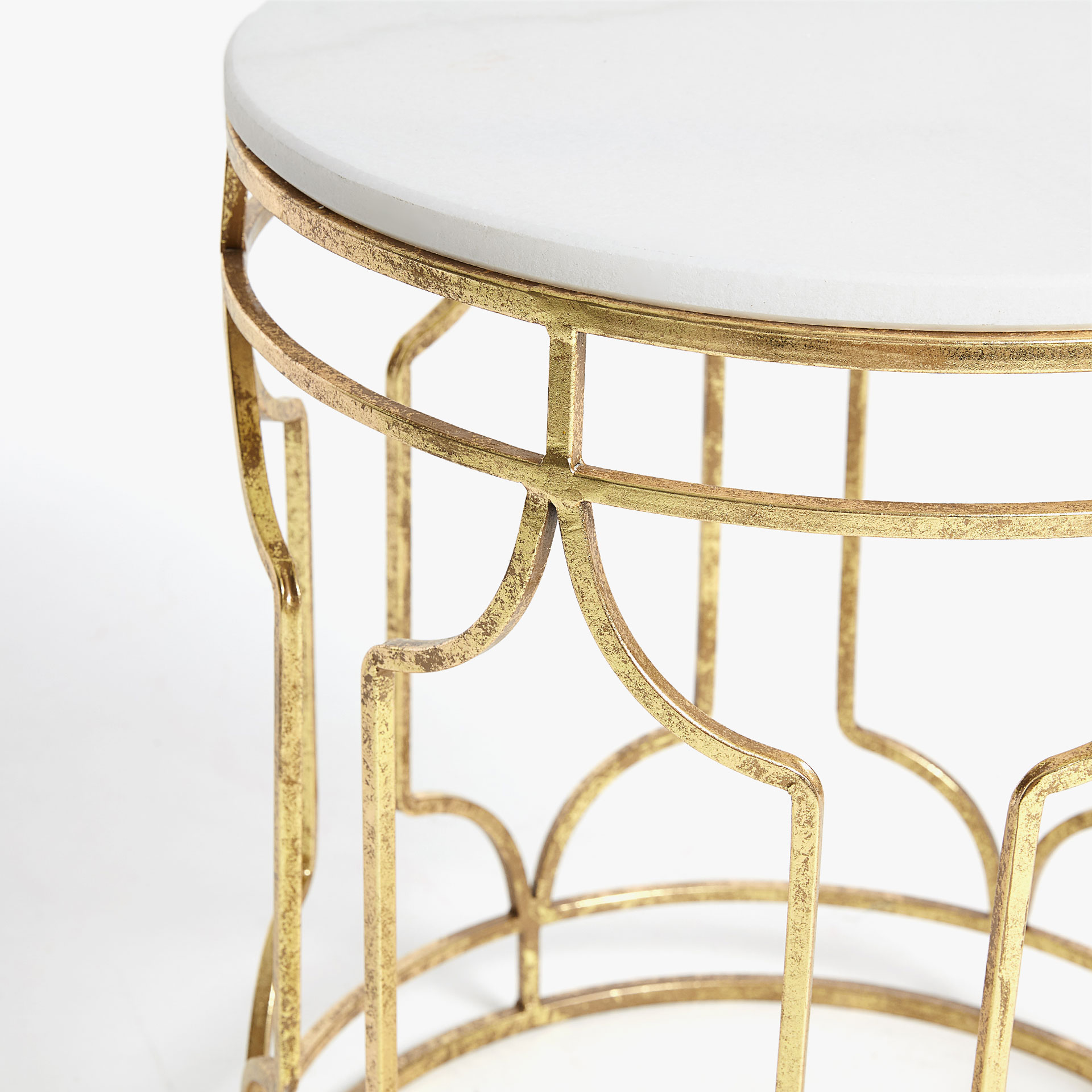 Round nested tables FURNITURE Decoration