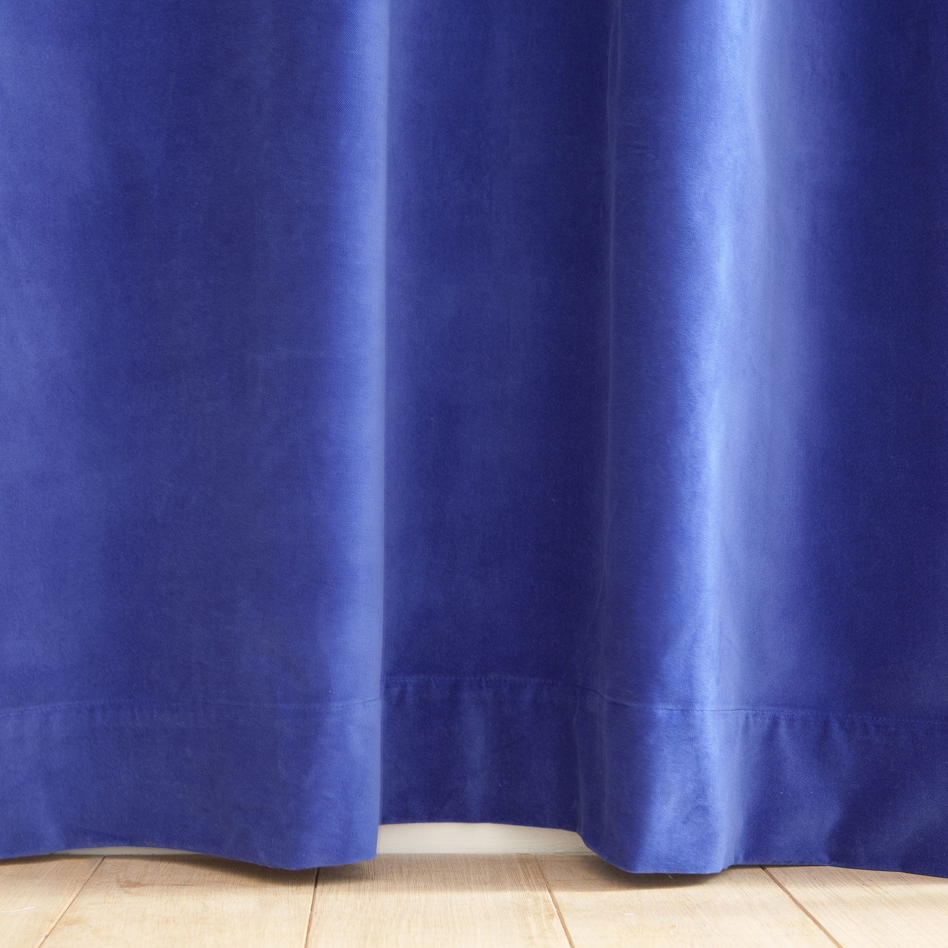 blue velvet curtain - Velvet Curtain