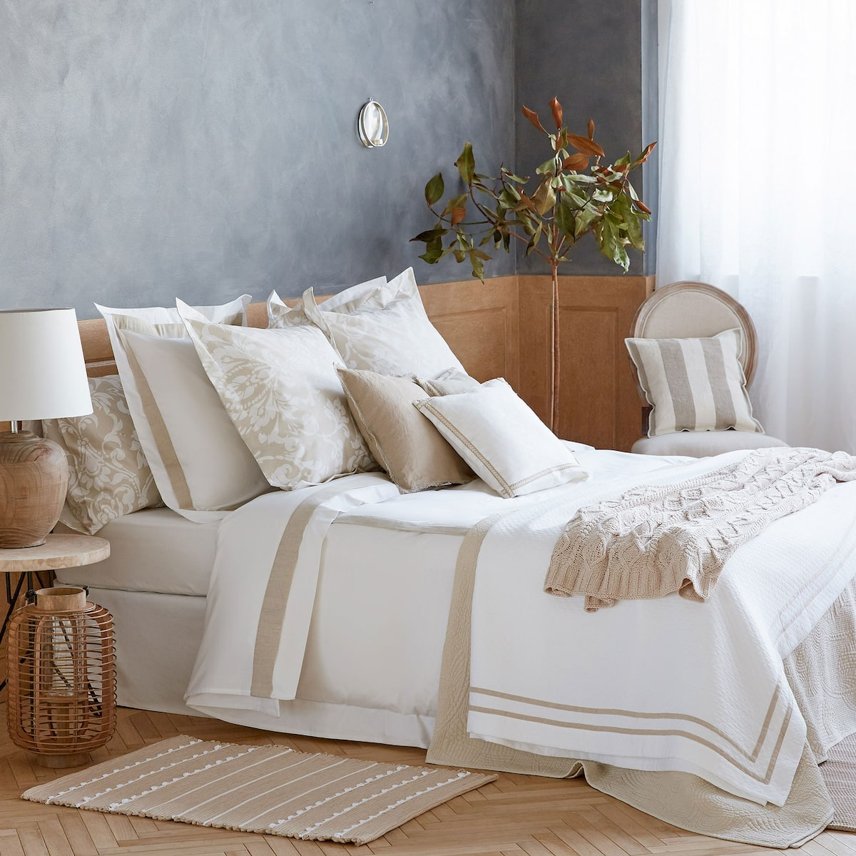 linge de maison en lin great linge de lit toulouse linge lit lin bed and philosophy trentotto. Black Bedroom Furniture Sets. Home Design Ideas