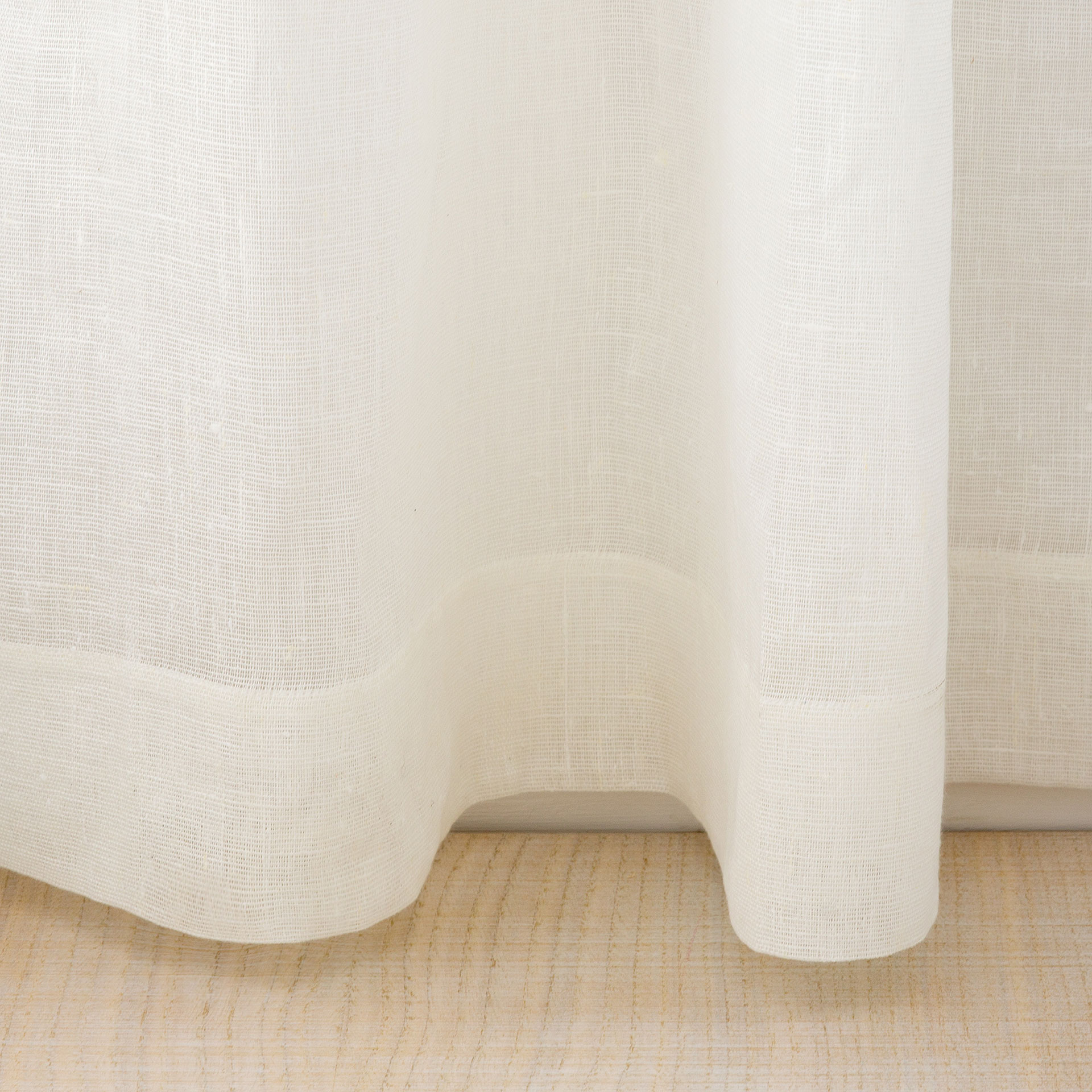 image 5 of the product offwhite linen curtain