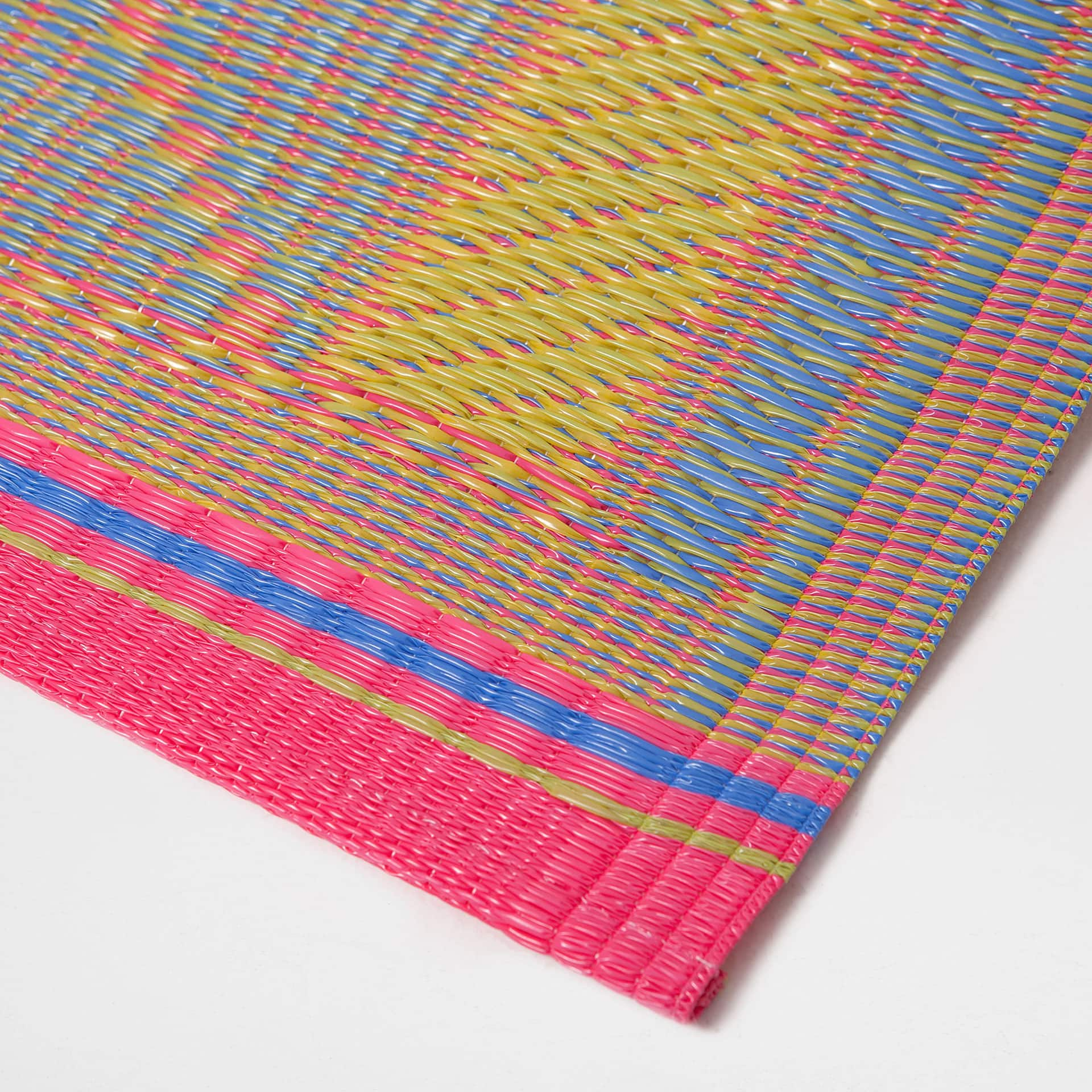 multicoloured striped rug  rugs  decoration  zara home united  -  image  of the product multicoloured striped rug