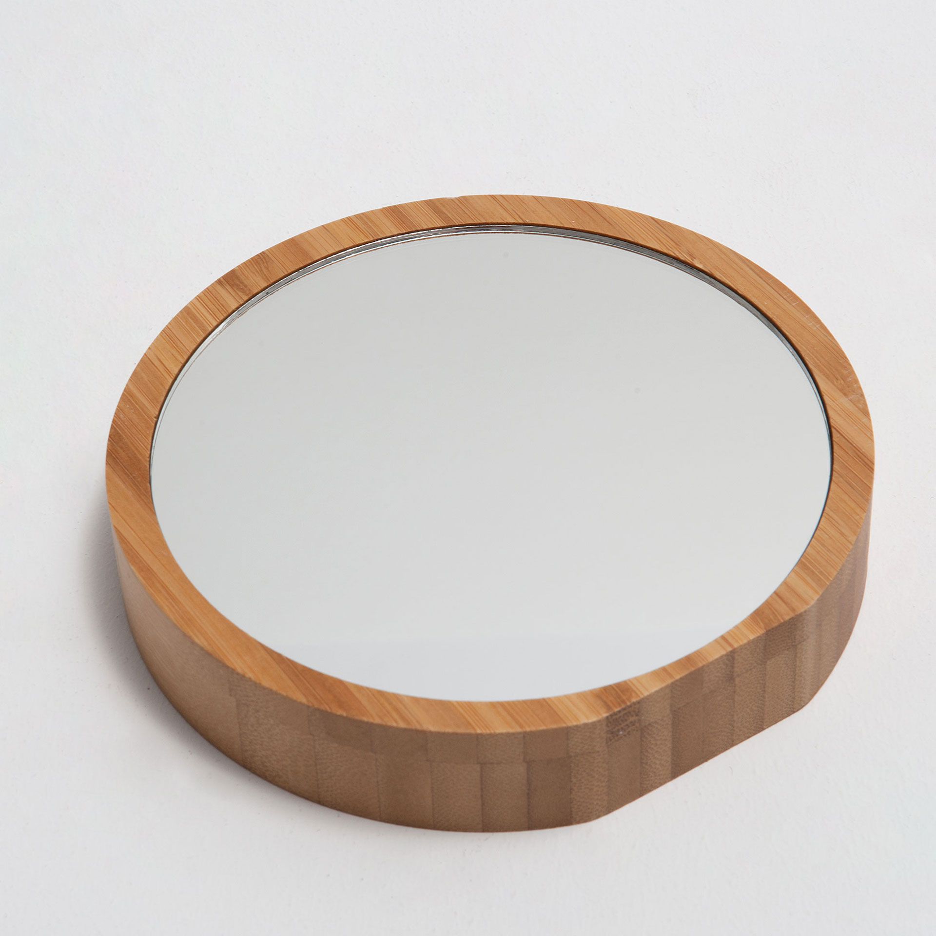 image 6 of the product round bamboo frame mirror - Bamboo Mirror