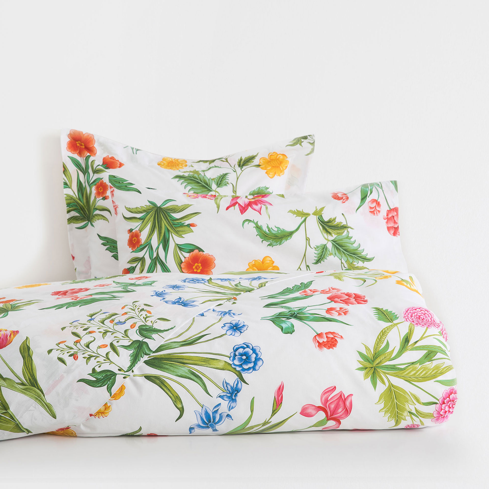 multicoloured floral duvet cover   zara home united kingdom -  image  of the product multicoloured floral duvet cover