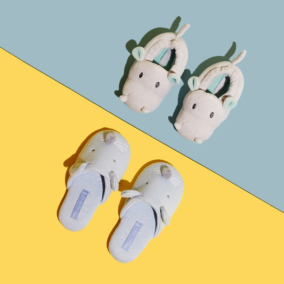 MOUSE MULE SLIPPERS
