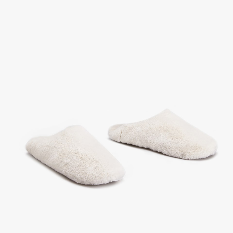 FURRY BABOUCHE SLIPPERS