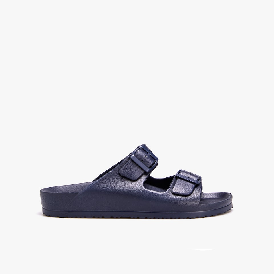 DOUBLE BUCKLE BEACH SANDALS