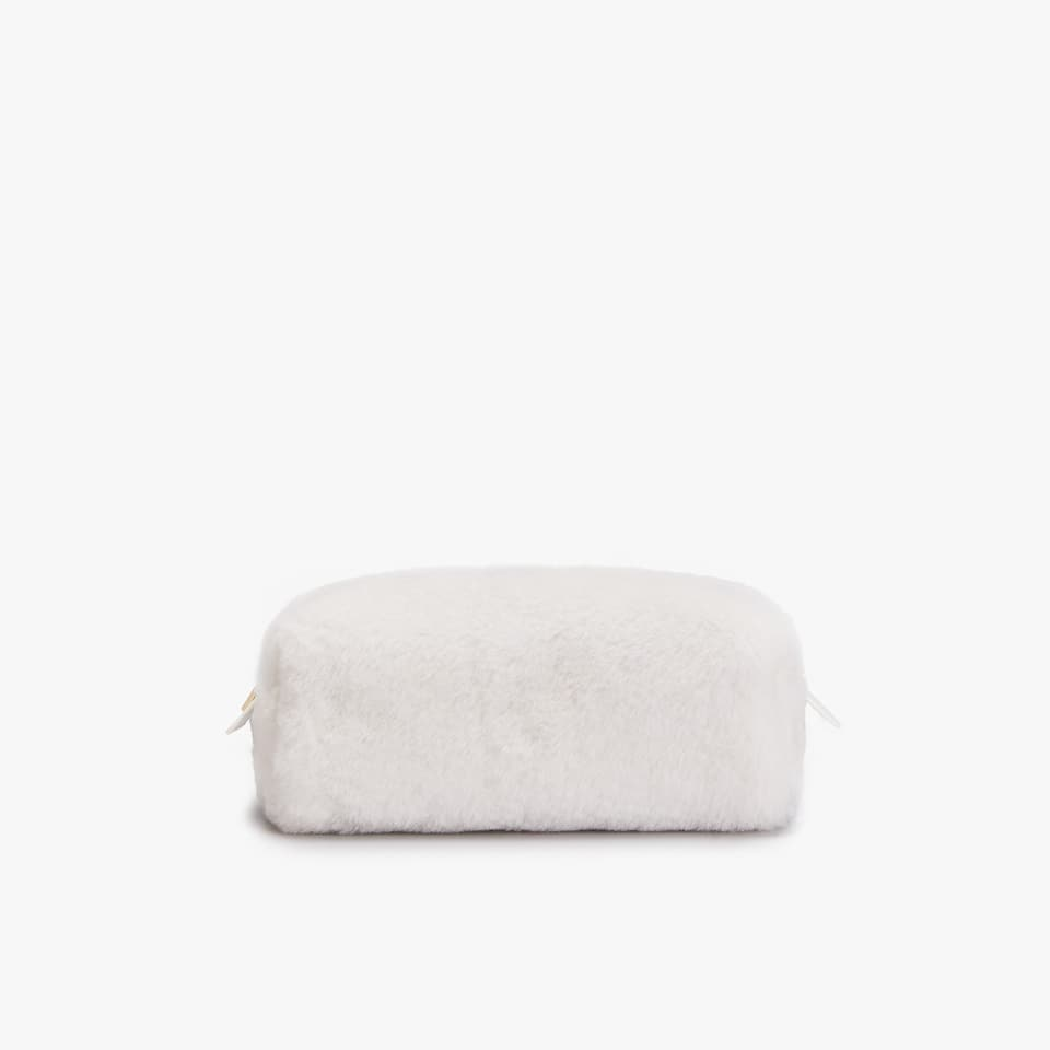 FURRY TOILETRY BAG