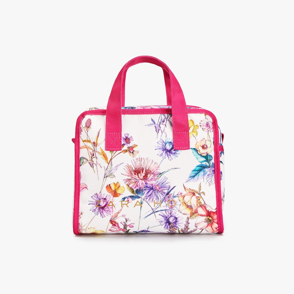 JAPAN EXCLUSIVE COLLECTION 日本限定 SHOPPER PEQUENA ESTAMPADO FLORES