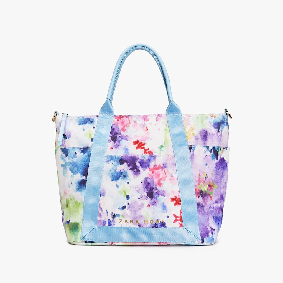 WATERCOLOUR PRINT TOTE BAG