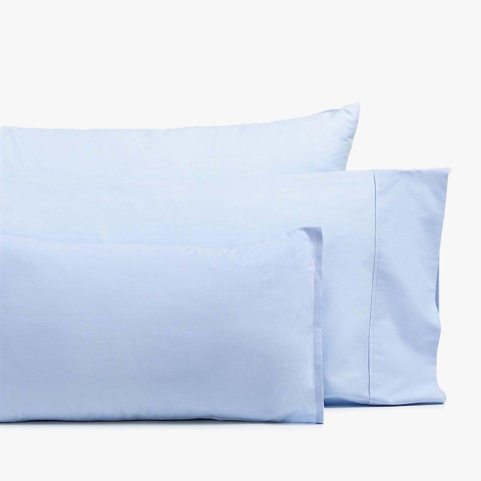Basic percale pillowcase