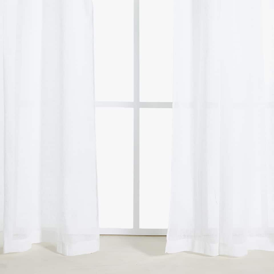 SHEER LINEN CURTAIN