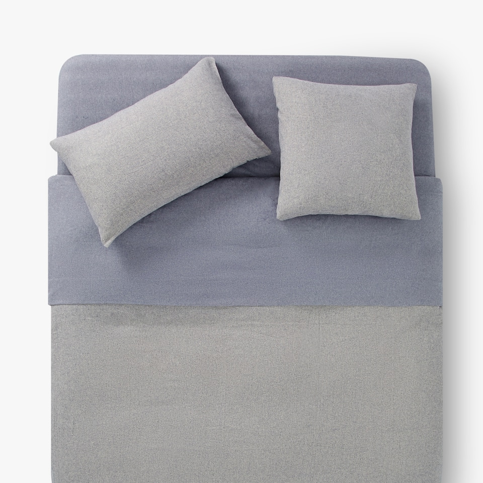 FLANNEL HERRINGBONE DUVET COVER