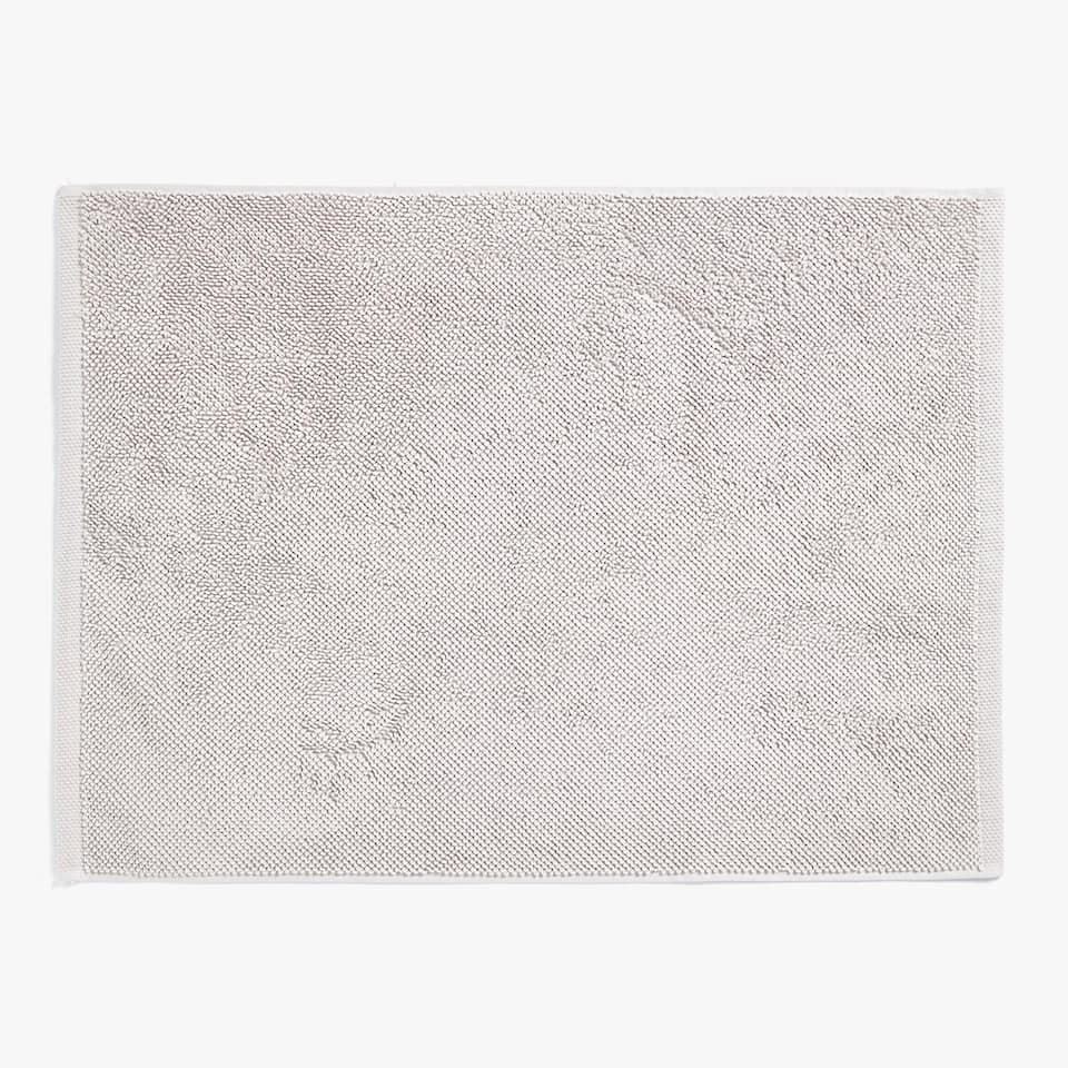 ECOLOGICALLY GROWN COTTON BATH MAT