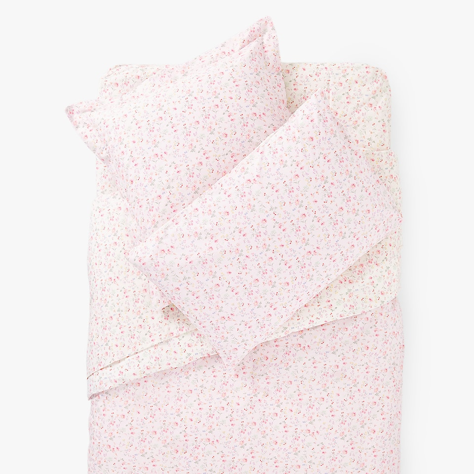 REVERSIBLE LITTLE FLOWER PRINT DUVET COVER