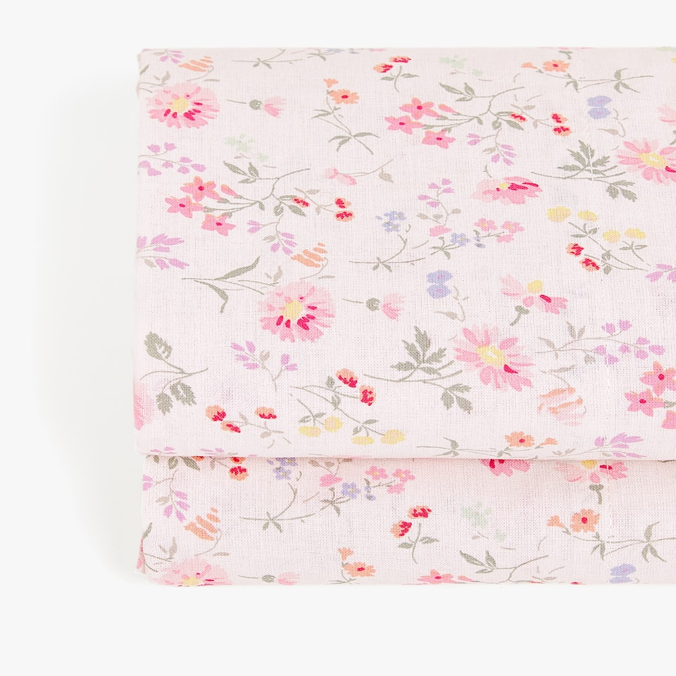 LITTLE FLOWER PRINT TOP SHEET