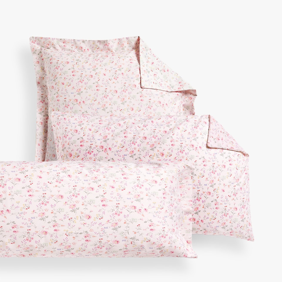 COMBINED LITTLE FLOWER PRINT PILLOWCASE