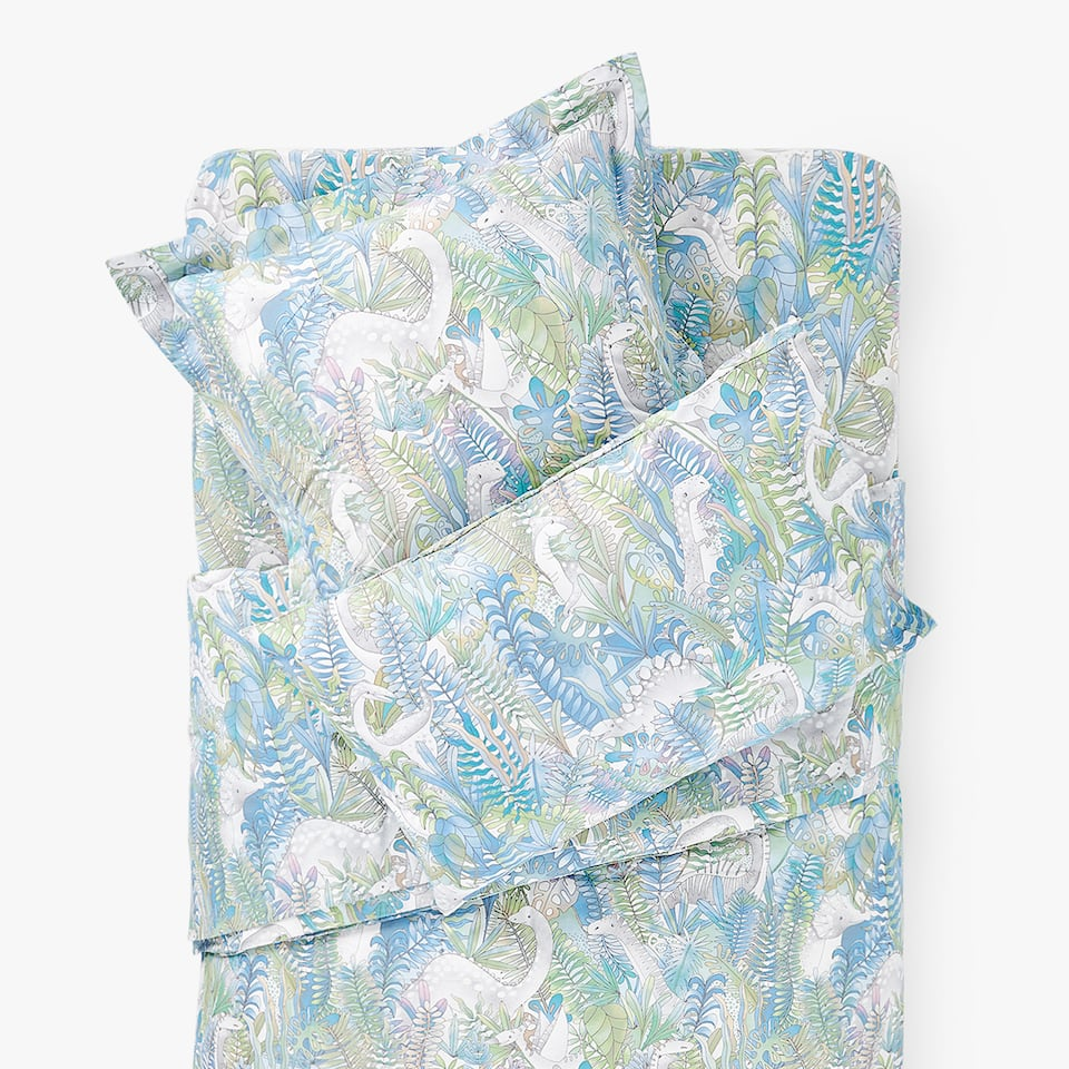 DINOSAUR FOREST DUVET COVER