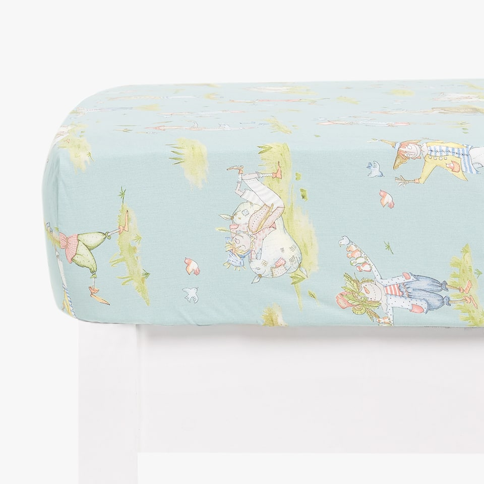 SCARECROW PRINT FITTED SHEET