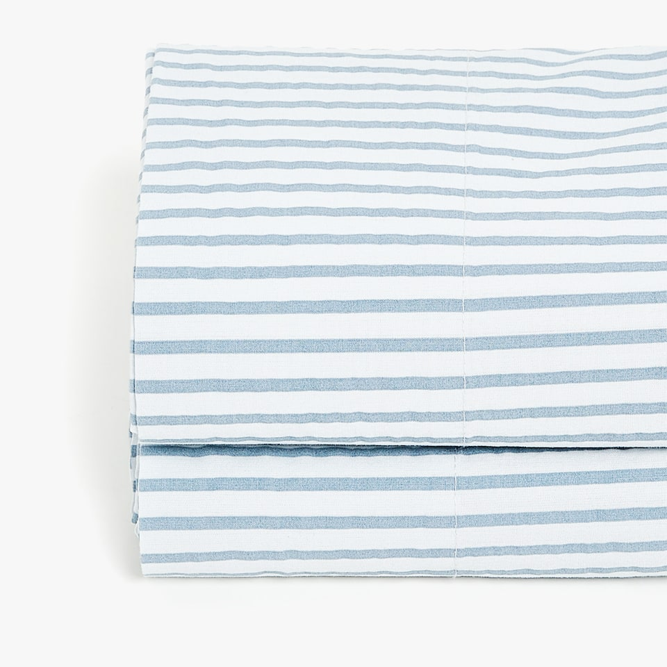 STRIPED PRINT TOP SHEET