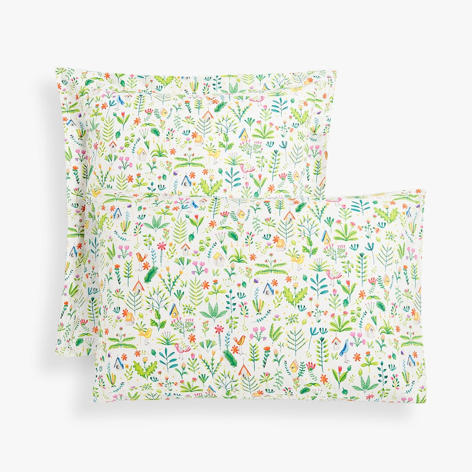 GARDEN PRINT PILLOWCASE