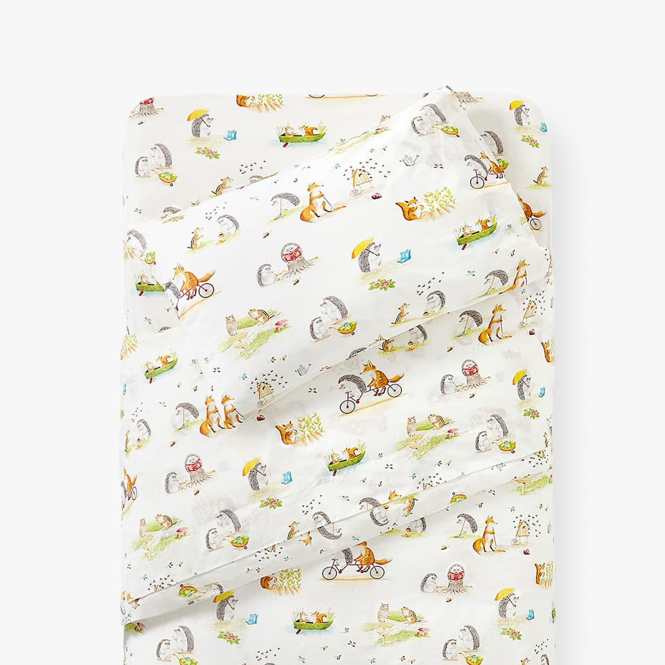 FOREST CREATURES DUVET COVER
