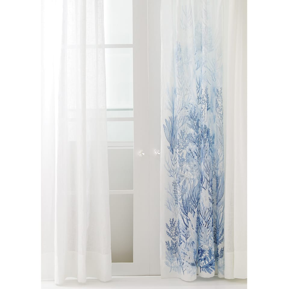 Zara Home Gardinen special collection corals linen curtain gardinen schlafzimmer