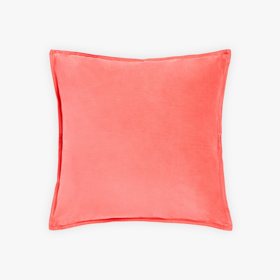 VELVET THROW PILLOW COVER