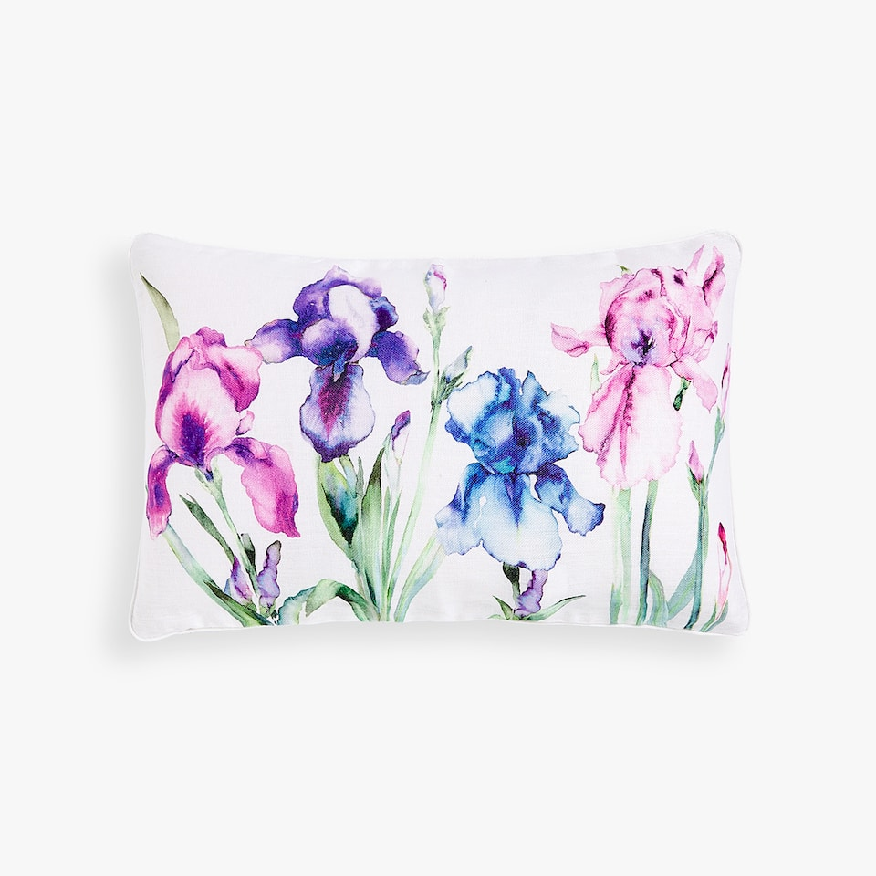 LILY PRINT CUSHION COVER