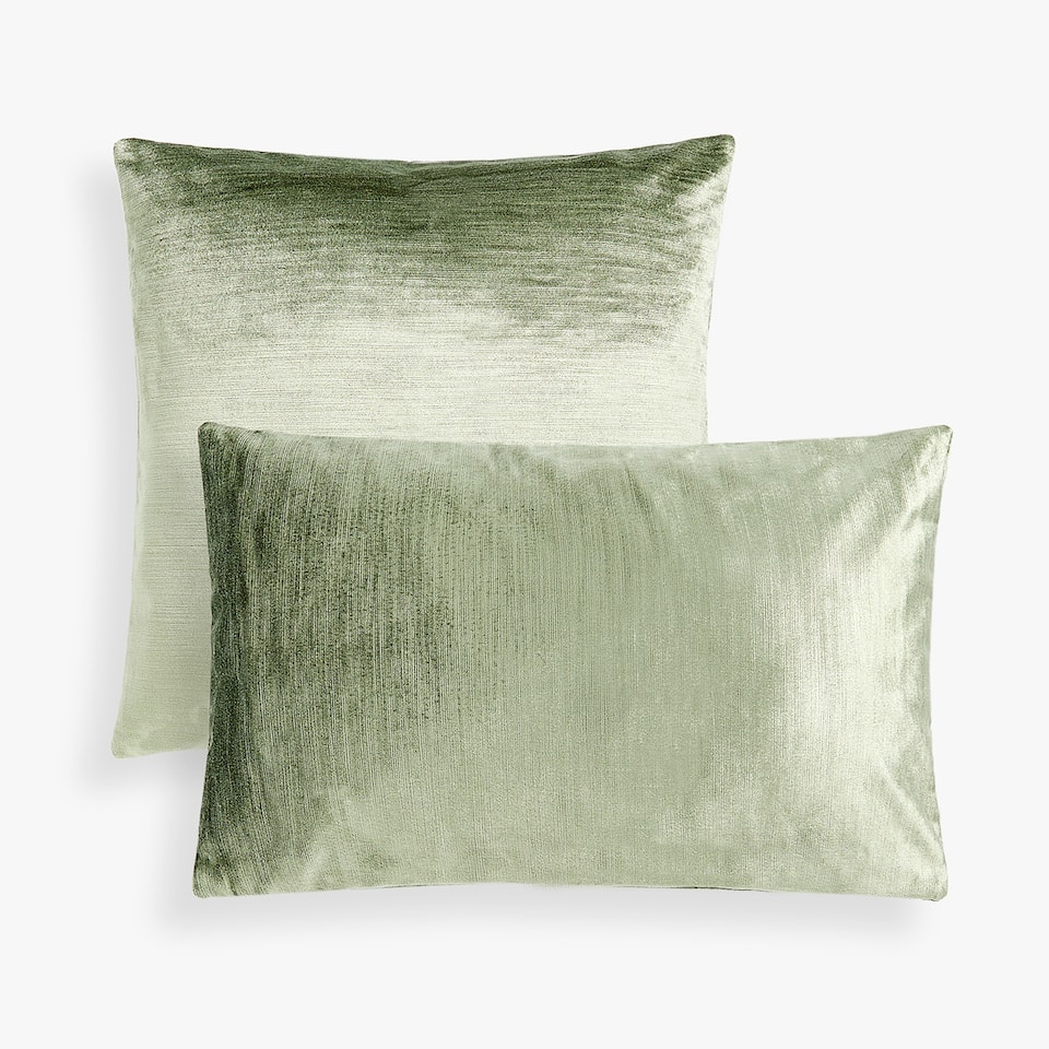 VELVET EFFECT CUSHION COVER