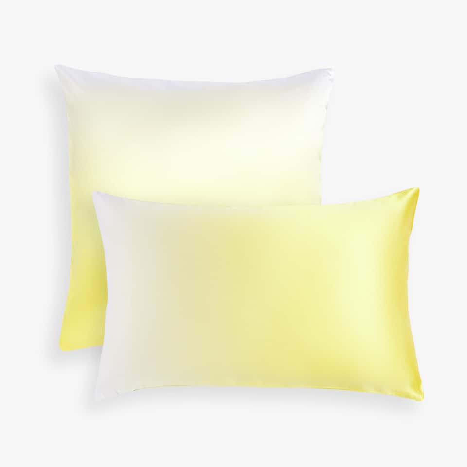 Ombré throw pillow cover