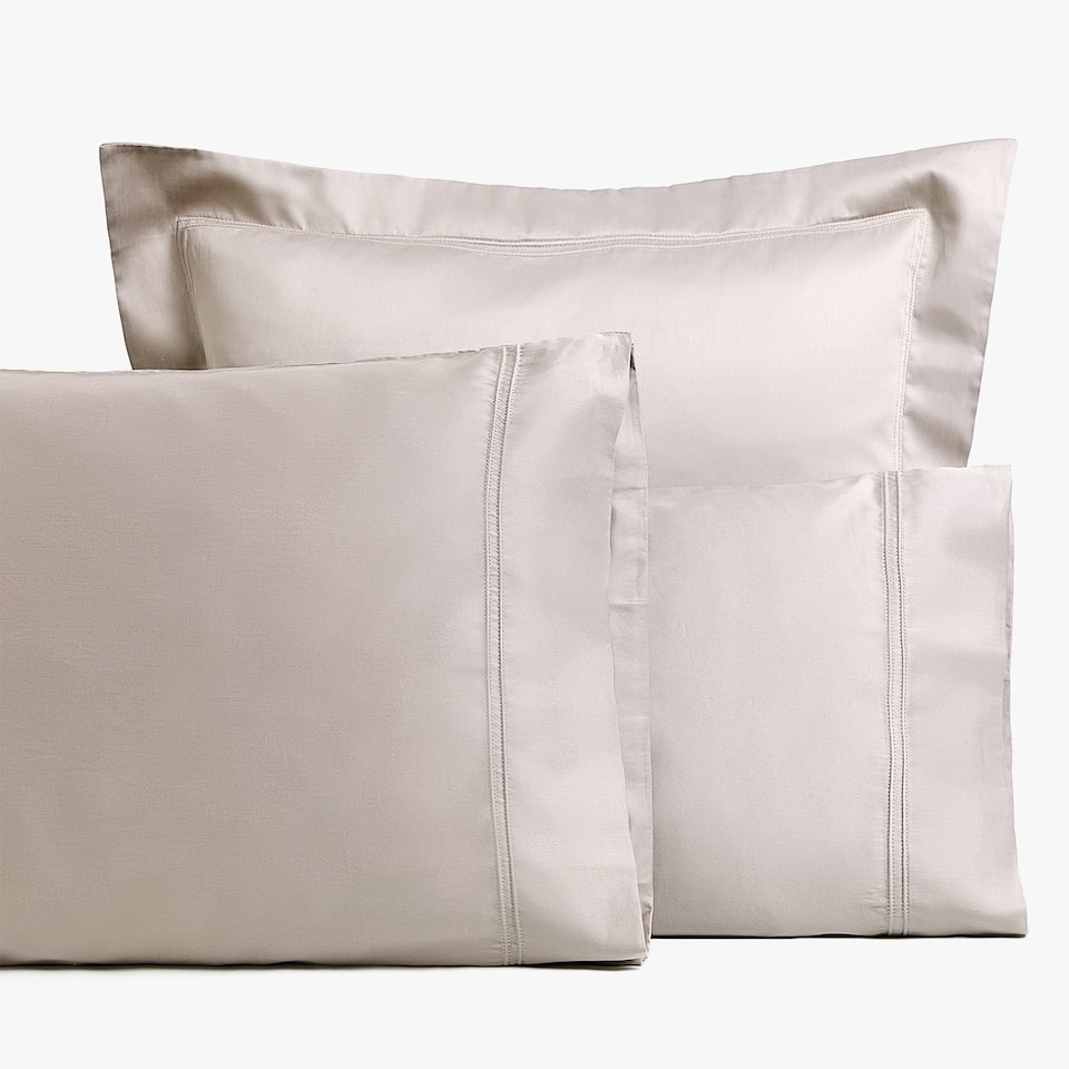 COTTON SATEEN PILLOWCASE
